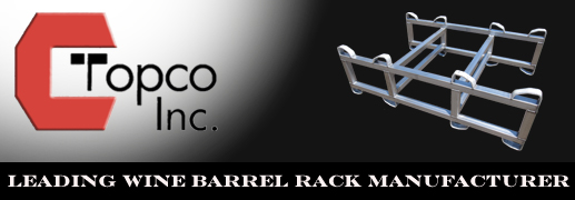 Topco, Inc. Leading Wine Barrel Rack Manufacturer