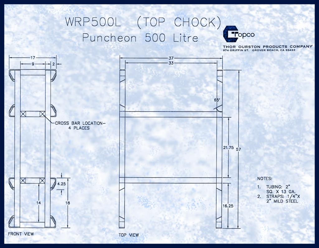 WRP500LTopChock